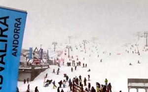 Grandvalira live webcam photo from Dec 7th 2014