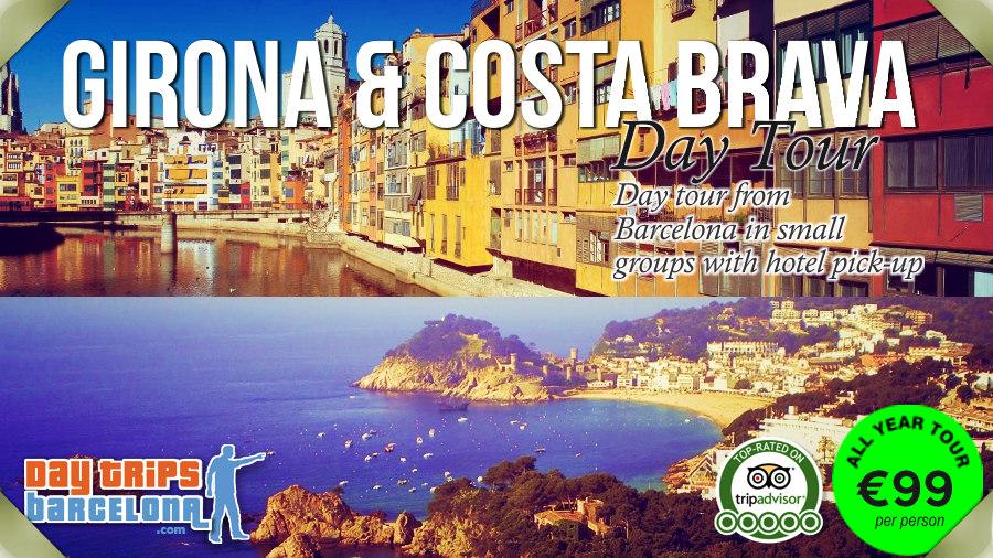 Day Tour Girona & Costa Brava from Barcelona