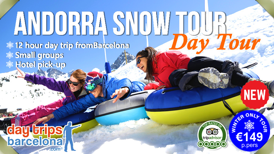 Andorra Snow Day Tour from Barcelona