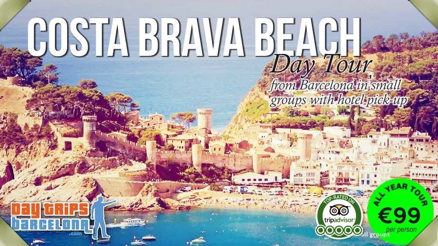 Costa Brava small group tour from Barcelona with hotel pick-up