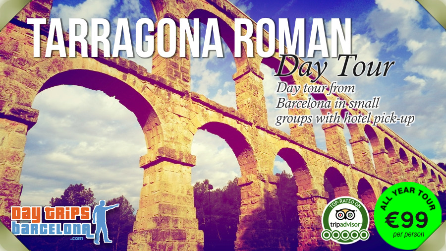 Day Tour to Tarragona Roman Ruins from Barcelona with hotel pick-up