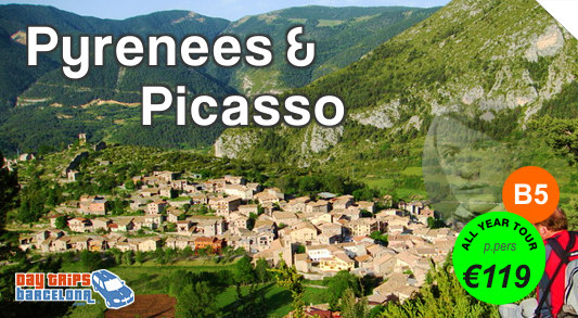 Pyrenees from Barcelona Day Tour