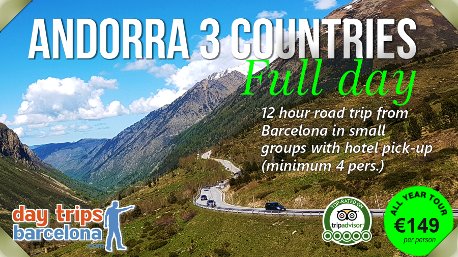 Andorra day tour from Barcelona - visit France and Pyrenees - Small groups