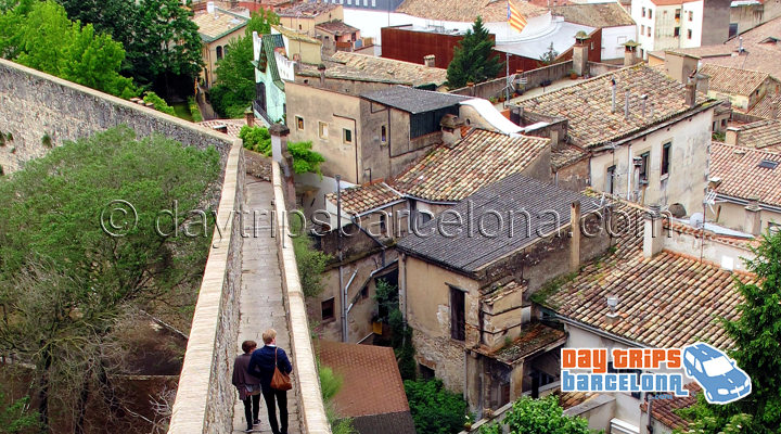 Medieval walks Girona. Half-day Tour to Girona from Barcelona